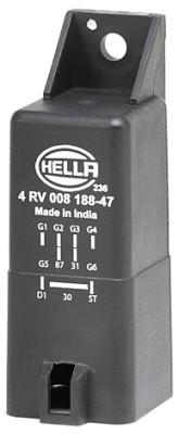 Relais de prechauffage HELLA 4RV 008 188-471 (X1)