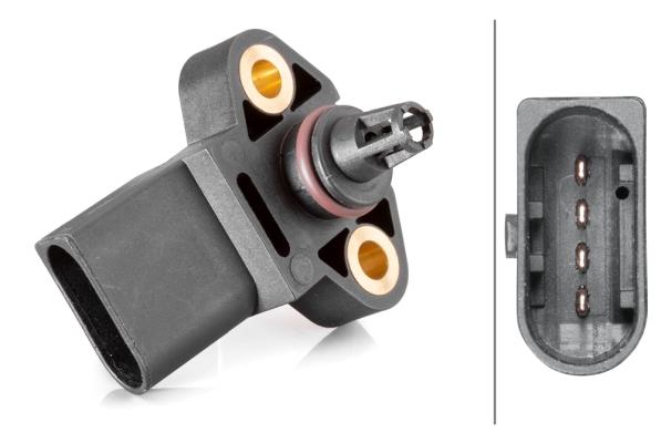 Capteur, pression de suralimentation HELLA 6PP 013 400-041 (X1)