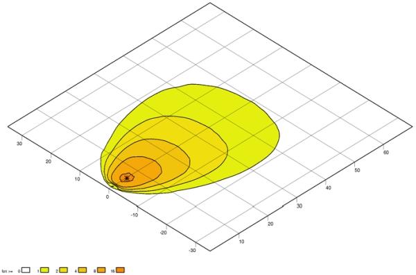 Projecteur de travail optique HELLA 1GA 998 534-461 (X1)