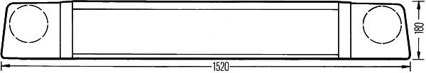 Gyrophare HELLA 2RL 005 410-081 (X1)