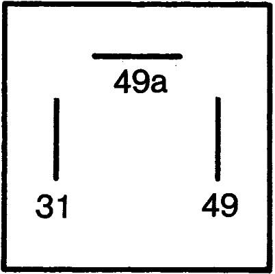 /électronique 24V HELLA 4DB 003 675-011 Centrale clignotante