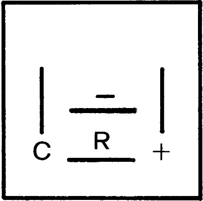 Centrale clignotante HELLA 4DB 007 218-001 (X1)