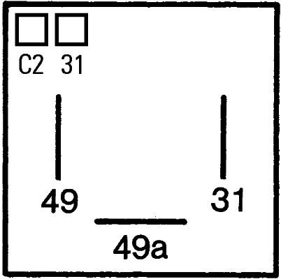 Centrale clignotante HELLA 4DM 005 698-021 (X1)
