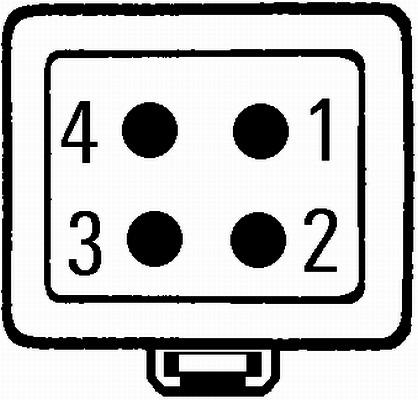 Feu de recul HELLA 2ZR 343 130-387 (X1)