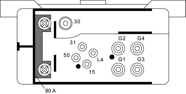 Relais de prechauffage HELLA 4RV 008 188-001 (X1)