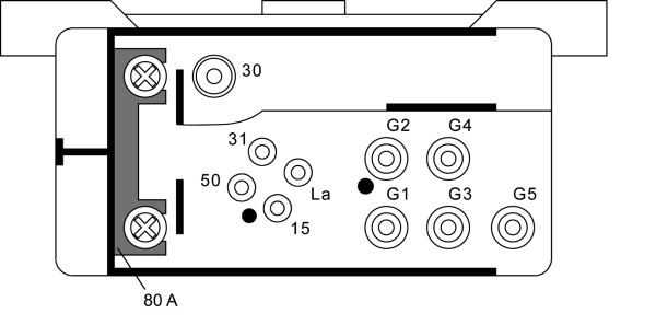 Relais de prechauffage HELLA 4RV 008 188-021 (X1)