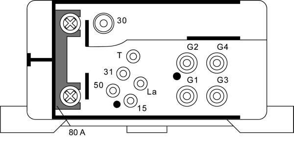 Relais de prechauffage HELLA 4RV 008 188-051 (X1)