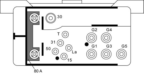 Relais de prechauffage HELLA 4RV 008 188-061 (X1)