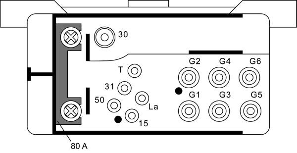 Relais de prechauffage HELLA 4RV 008 188-071 (X1)