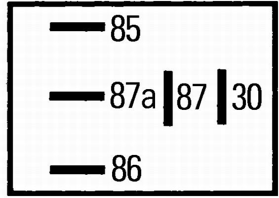 Relais HELLA 4RD 965 453-041 (X1)