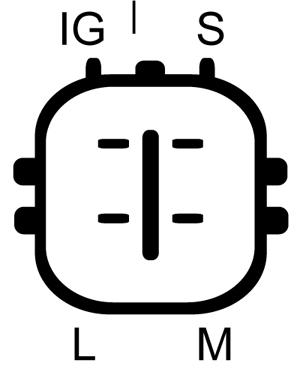 Alternateur LUCAS ELECTRICAL LRA02975 (X1)