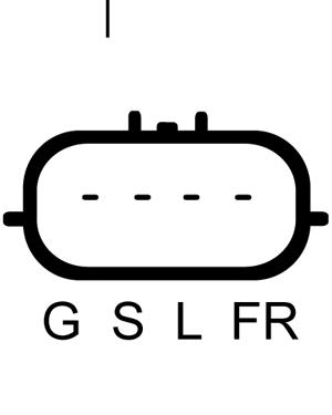 Alternateur LUCAS ELECTRICAL LRA02849 (X1)