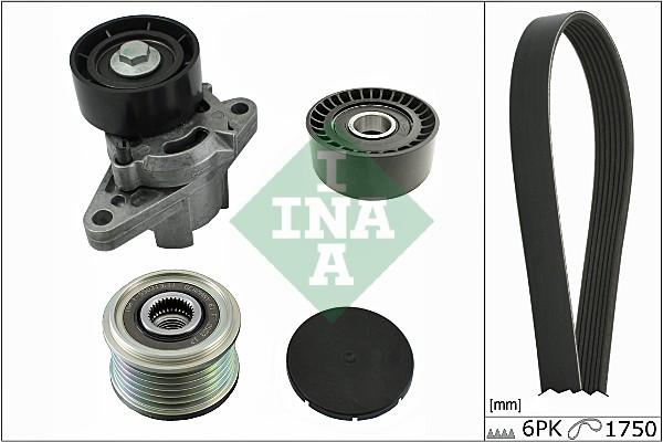 Kit de courroie d'accessoire INA 529 0068 10 (X1)