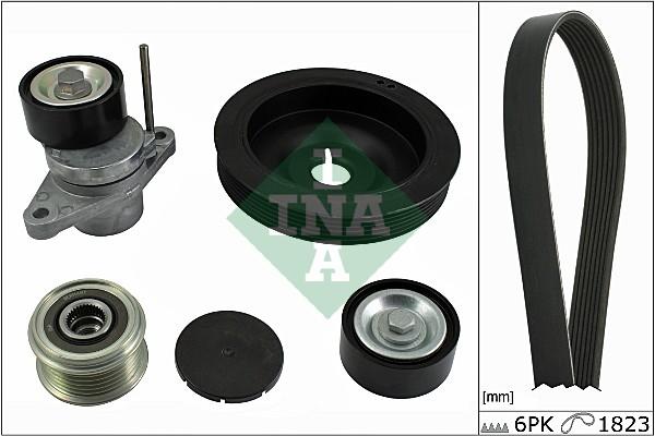 Kit de courroie d'accessoire INA 529 0069 10 (X1)