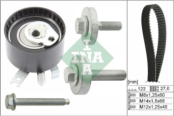 Kit distribution INA 530 0197 10 (X1)