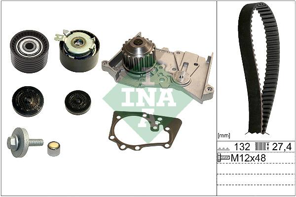 Kit distribution + pompe a eau INA 530 0640 30 (X1)