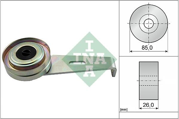 Galet tendeur accessoires INA 531 0097 10 (X1)