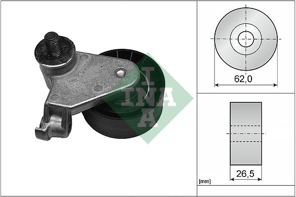 Galet tendeur de distribution INA 531 0171 10 (X1)