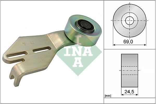 Galet tendeur accessoires INA 531 0238 10 (X1)