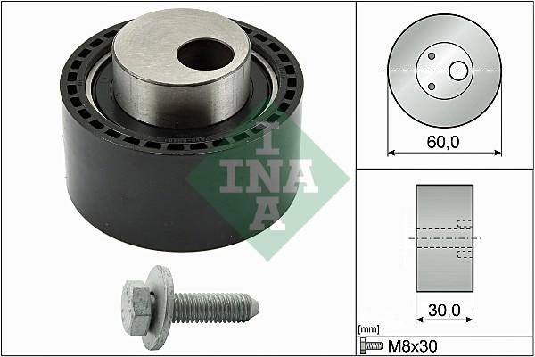 Galet tendeur de distribution INA 531 0264 10 (X1)