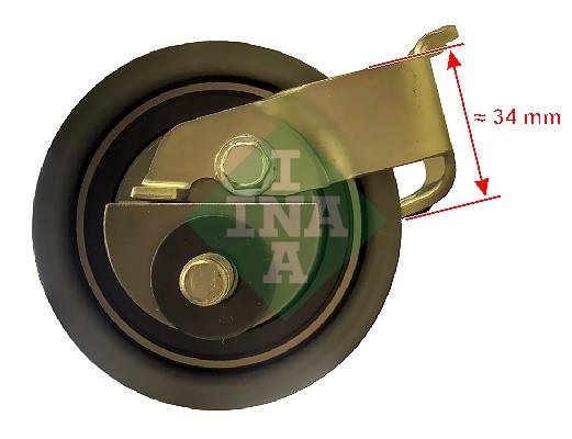 Galet tendeur de distribution INA 531 0399 20 (X1)
