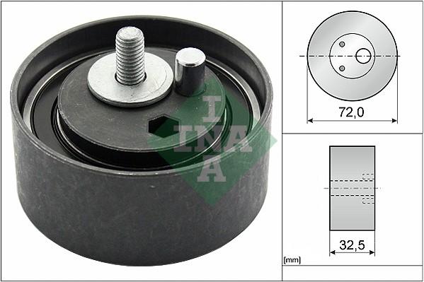 Galet tendeur de distribution INA 531 0477 20 (X1)