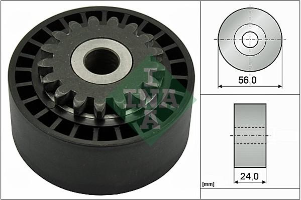 Galet tendeur accessoires INA 531 0744 10 (X1)