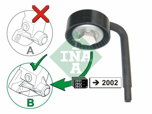 Galet tendeur accessoires INA 531 0790 10 (X1)