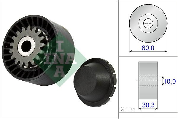 Galet tendeur accessoires INA 531 0811 10 (X1)