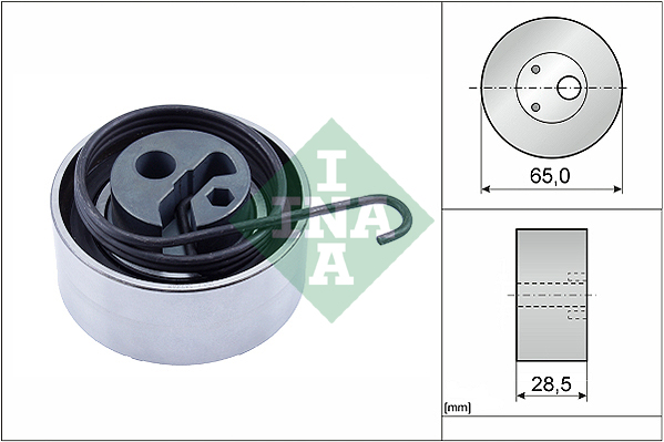 Galet tendeur de distribution INA 531 0819 10 (X1)
