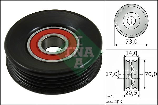 Galet tendeur accessoires INA 531 0853 10 (X1)