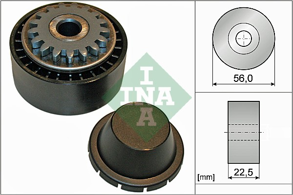 Galet tendeur accessoires INA 531 0854 10 (X1)
