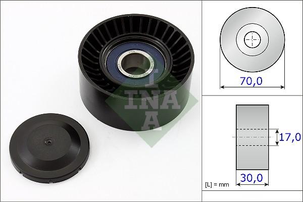 Galet tendeur accessoires INA 531 0873 10 (X1)