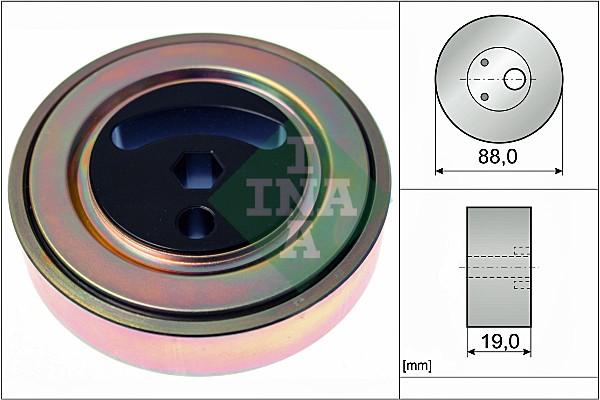 Galet tendeur accessoires INA 531 0889 10 (X1)