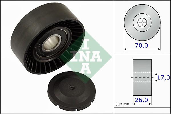 Galet tendeur accessoires INA 531 0891 10 (X1)
