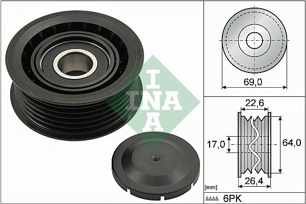 Galet enrouleur accessoires INA 532 0160 10 (X1)