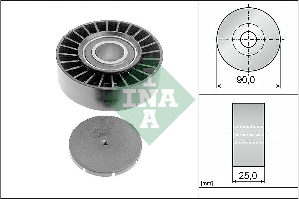 Galet enrouleur accessoires INA 532 0169 10 (X1)