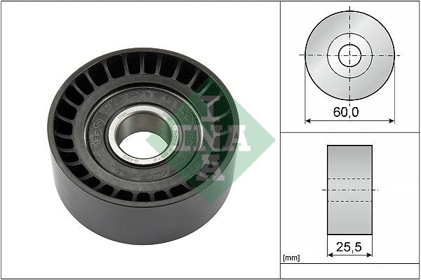 Galet enrouleur accessoires INA 532 0243 10 (X1)