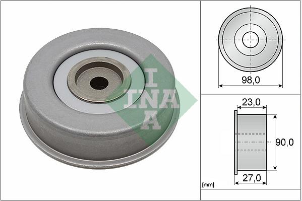 Galet enrouleur accessoires INA 532 0381 20 (X1)