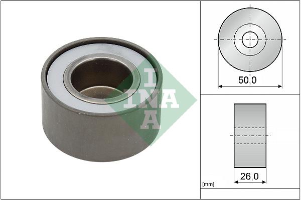 Galet enrouleur accessoires INA 532 0392 20 (X1)