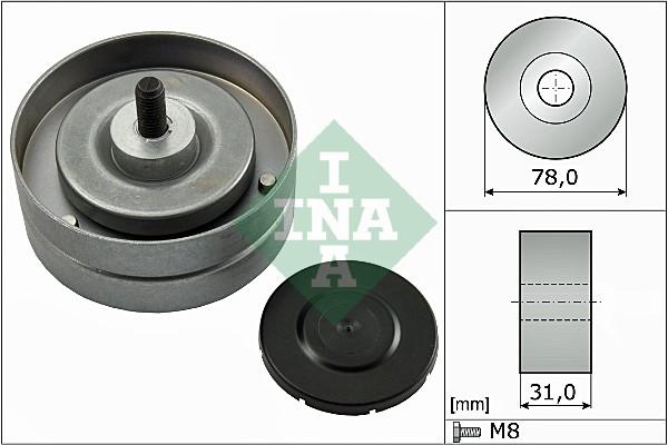Galet enrouleur accessoires INA 532 0463 10 (X1)