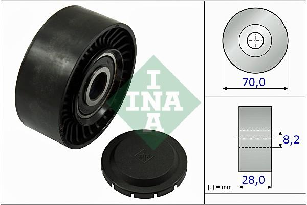 Galet enrouleur accessoires INA 532 0468 10 (X1)