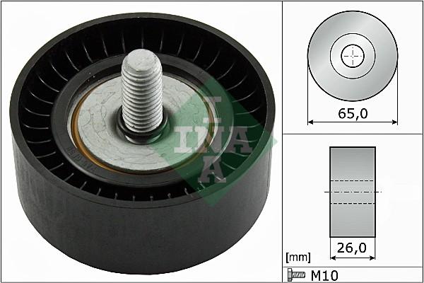 Galet enrouleur accessoires INA 532 0479 10 (X1)