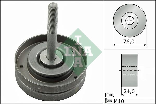 Galet enrouleur accessoires INA 532 0500 10 (X1)