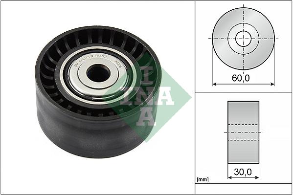 Galet enrouleur accessoires INA 532 0534 10 (X1)