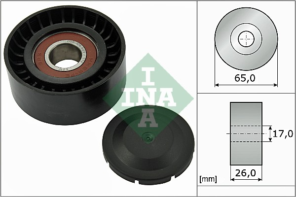 Galet enrouleur accessoires INA 532 0557 10 (X1)