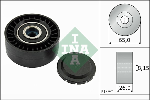 Galet enrouleur accessoires INA 532 0564 10 (X1)