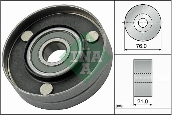 Galet enrouleur accessoires INA 532 0567 10 (X1)