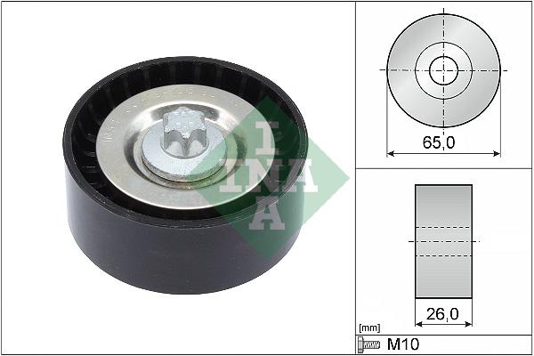 Galet enrouleur accessoires INA 532 0570 10 (X1)