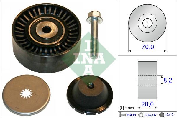 Galet enrouleur accessoires INA 532 0600 10 (X1)